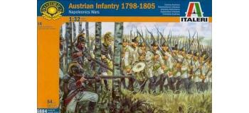 Maquettes : ITALERI I6884 - Infanterie Autrichienne. 1798-1805