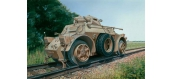 Maquettes : ITALERI 7064 - Autoblindé AB40 Ferrovière