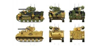 ITALERI I7066 - Char d'assaut M163 Vulcan