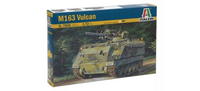 Maquettes : ITALERI I7066 - Char d'assaut M163 Vulcan