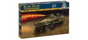 Maquettes :  ITALERI I7067 - Half track Sd.Kfz.251/16 Flamm