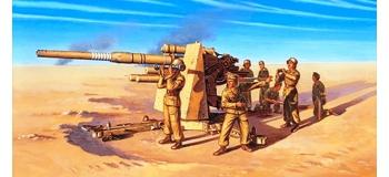 Maquettes : IITALERI I7512 - FlaK 37 88mm