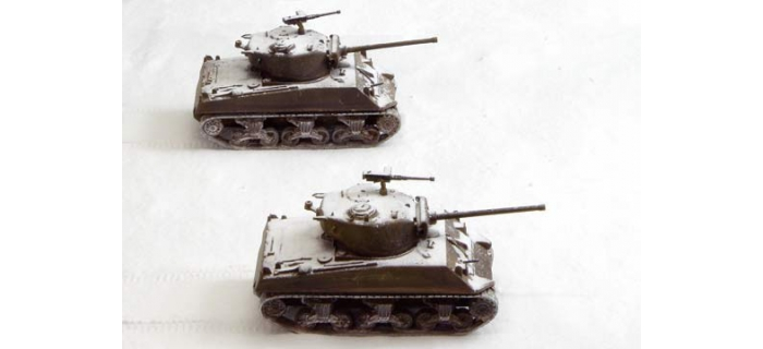 ITALERI I7521 - Char d'assaut M4A3 Sherman 76mm