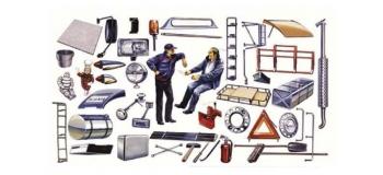 Maquettes : ITALERI I764 - Accessoires Camions 1970/80