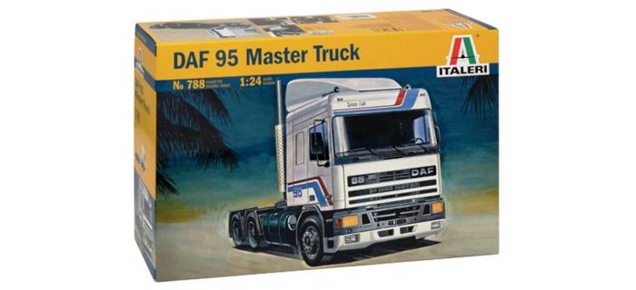 Maquettes : ITALERI I788 - DAF 95 Master Truck