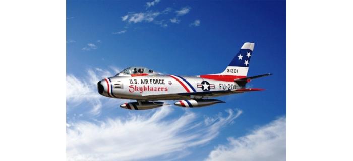 Maquettes : ITALERI I2684 - F-86F Sabre Skyblazers