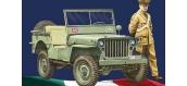 Maquettes : ITALERI I6355 - Jeep Carabinieri