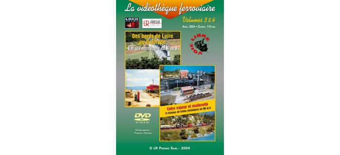 dvd la vid u00e9oth u00e8que ferroviaire  vol  3 et 4 - dvdbal - lr presse - cd  dvd