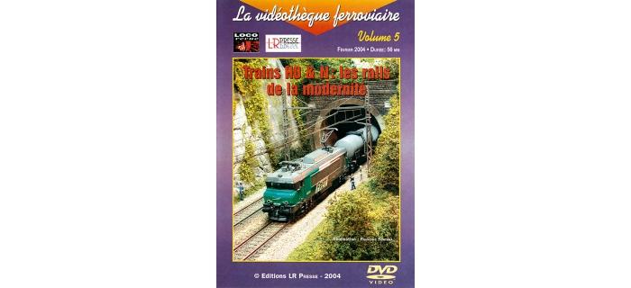 RAILDVD Les rails de la modernité en DVD