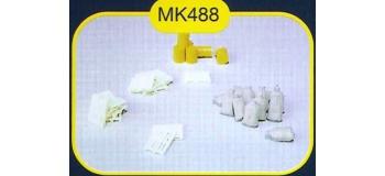 mkd mk488 Palettes, Sacs, Futs