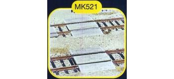 mkd mk521 Passages planchéies