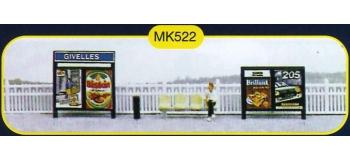 mkd mk522 Mobilier de quai