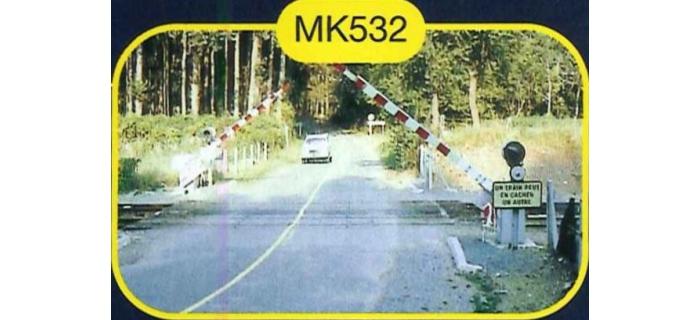 mkd mk532 Passage à niveau à 2 demi barrières