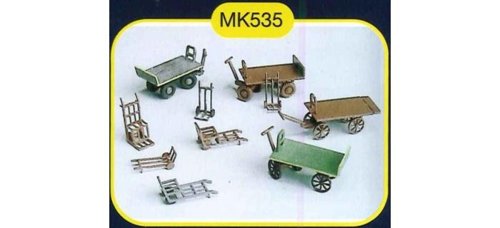 mkd mk535 Charettes de gare