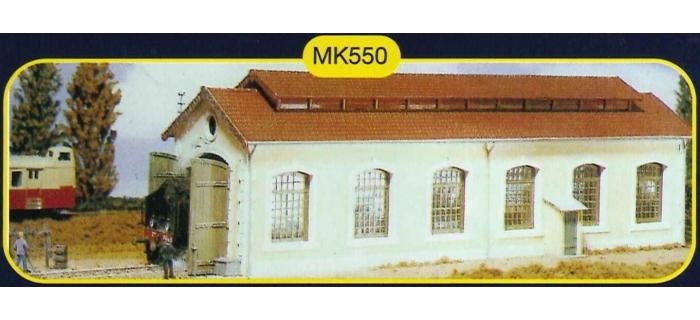 modelisme ferroviaire mkd mk550 Remise à locomotive
