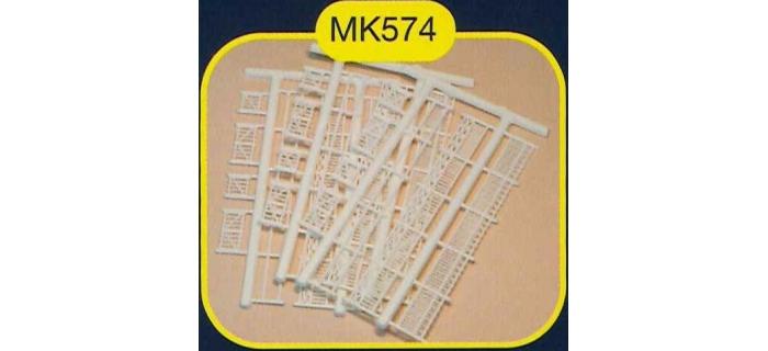 mkd mk574 Clotures de jardin