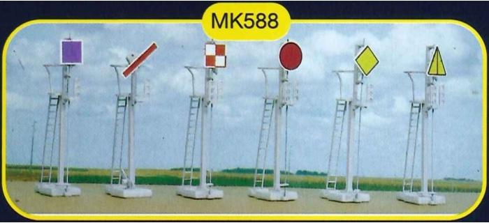 mkd mk588 Signaux mécaniques et accessoires de voie