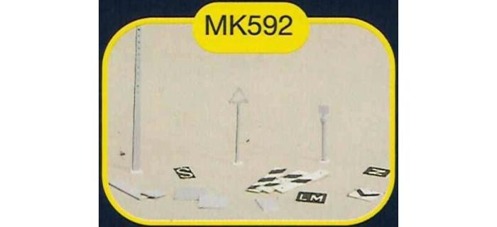 mkd mk592 Pancartes de signalisation