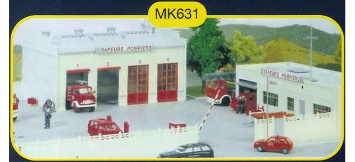 mkd mk631 Caserne des pompiers