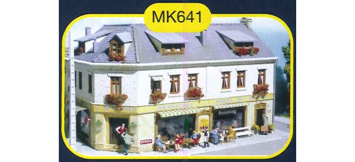 mkd mk641 Hôtel du départ
