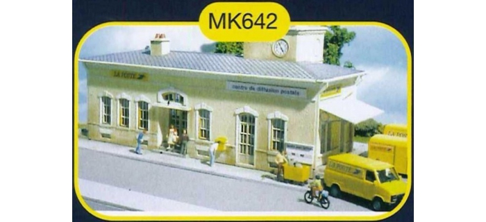 mkd mk642 La Poste - Centre de tri postal