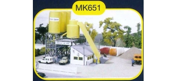 mkd mk651 Centrale à béton