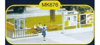 mkd mk676 Mobilier urbain