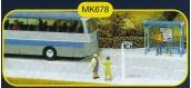 modelisme ferroviaire mkd mk678 Abri de bus