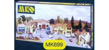 modelisme ferroviaire mkd mk699 Le village français