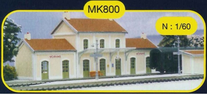 mkd mk800 Gare de moirans avec quais