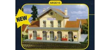 modelisme ferroviaire mkd mk8016 Gare de beaulieu