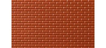 mur de brique rouge no 55005 noch murs et clotures easy miniatures. Black Bedroom Furniture Sets. Home Design Ideas