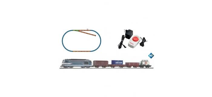 Modélisme ferroviaire : PIKO PI 97919 - Coffret analogique BB67400