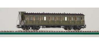 PIKO 53005 Voitures à compartiments, ex-SAX, 3e classe SNCF wagon modelisme ferroviaire