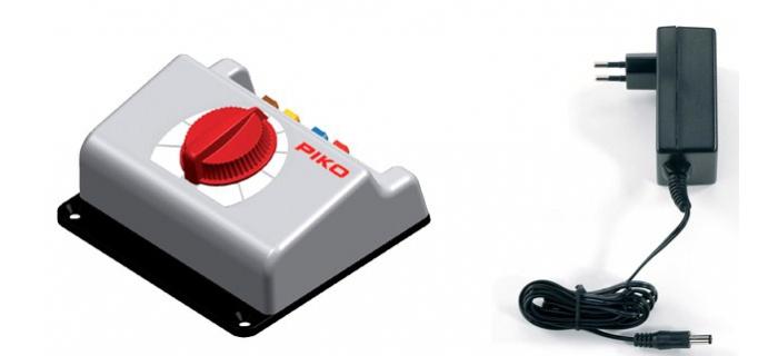 PIKO 55000 Régulateur avec transformateur et adaptateur secteur 18 v 2 A modelisme ferroviaire