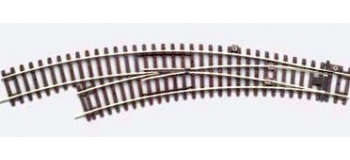 PIKO 55222 Aiguillage courbe gauche 15°, R2 / R3