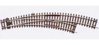 PIKO 55223 Aiguillage courbe droit 15°, R2 / R4
