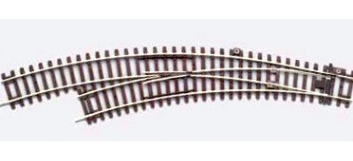 PIKO 55227 Aiguillage courbe gauche 15°, R3 / R4