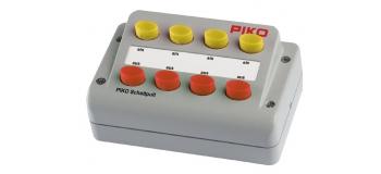PIKO 55261 Boitier de commande, 4 interrupteurs