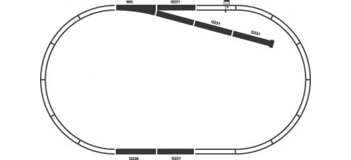 PIKO 55310 Coffret de rails B