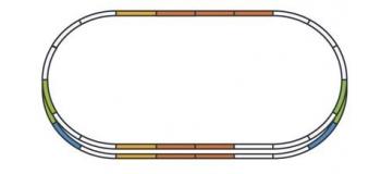 PIKO 55340 Coffret de rails E