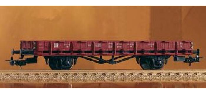 PIKO 57701 Wagon plat à 2 essieux, type R0061 Wagon modelisme ferroviaire