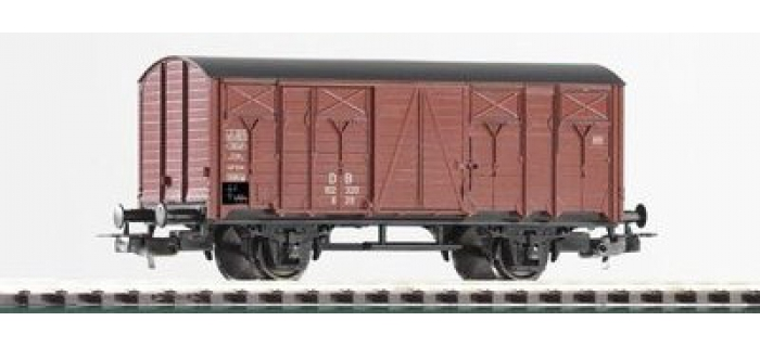 PIKO 57709 Wagon couvert à 2 essieux, type G29 Wagon train miniature