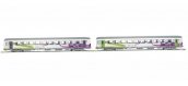 Modélisme ferroviaire  PIKO PI 58651 - Set 2 voitures Corail SNCF , VTU Intercites