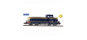 Modélisme ferroviaire : PIKO94118 - Locomotive diesel BB 66000 SNCF, bleu foncé, bandes jaunes