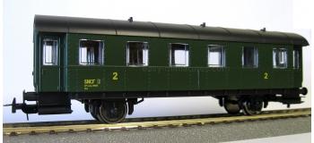 piko 96070 Voiture 2 essieux, 2e classe SNCF modelisme ferroviaire trains électriques