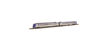 Modélisme ferroviaire : PIKO PI 96421 - Autorail électrique SNCF, Z2 Z 7356, TER Région Centre - sonore