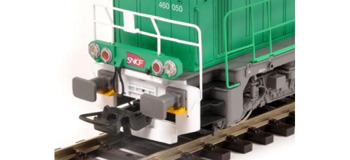 Modélisme ferroviaire : PIKO PI96471 - Locomotive diesel BB 60000 livrée FRET avec logo carmillon - sonorisée