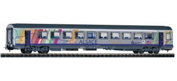 Modélisme ferroviaire : PIKO PI 97042 - Voiture TER Alsace - Ep. VI