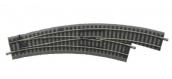 Modélisme ferroviaire : PIKO - PI 55423 - Rail PIKO A avec ballast Aiguillage courbe BW